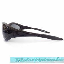 Airfoil Black Sunglasses with Smoke Lens And UV 400 Protection with Padded Frame