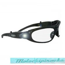 Global Vision Hi-Beam Clear Sunglasses