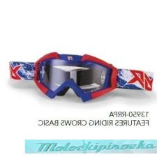 ARIETE Очки для шлема MX GOGGLES RIDING CROWS TOP PATRIOT RRK