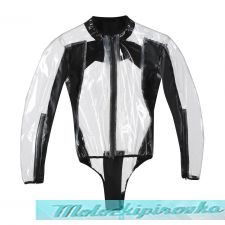 DAINESE RAIN BODY RACING D1 - TRANS RENT/BLACK XS
