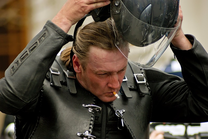 Куртка косуха - как родная кожа байкера